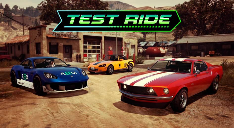 GTA Online LS Car Meet Voitures Essai