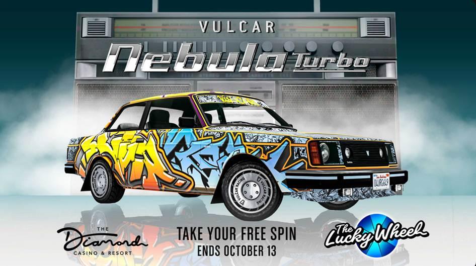 Nebula turbo dans GTA Online Casino