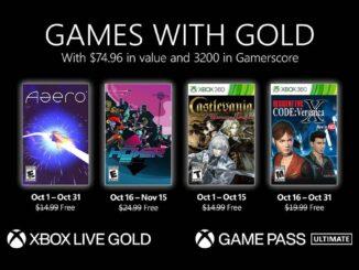 Xbox Game Pass Octobre 2021 - Jeux Game Pass Console/PC/Cloud